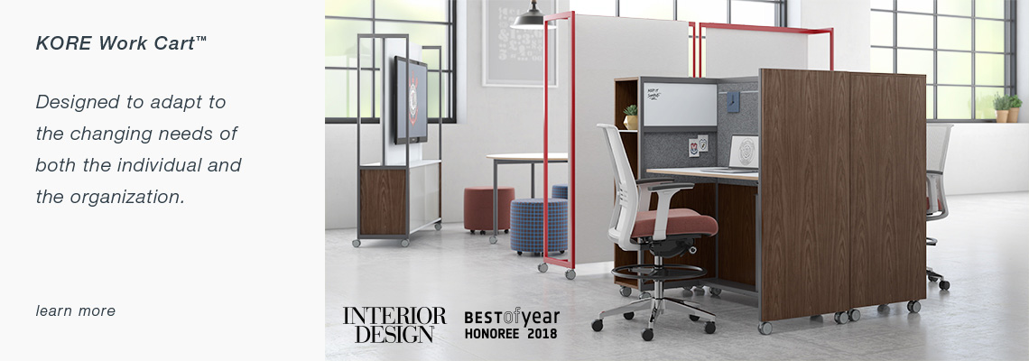designs of office tables l shape kore work cart home kimball
