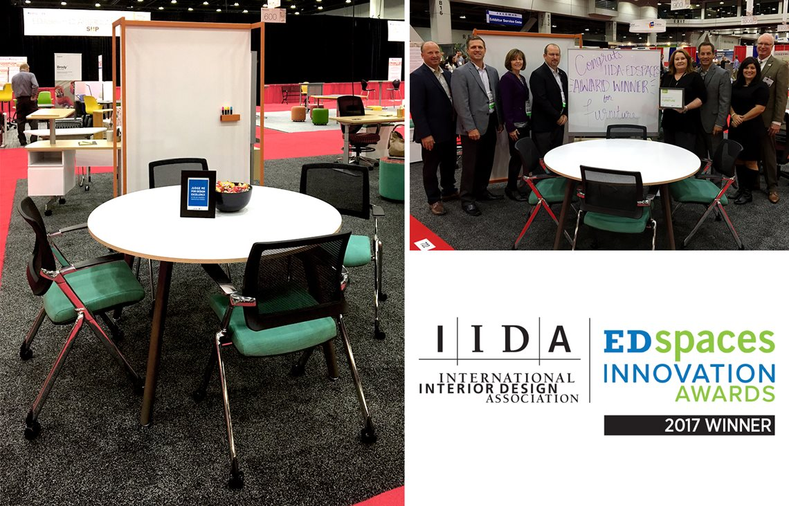 The EDspaces Innovation Awards In Furniture Category This Annual Competition Sponsored By International Interior Design Association IIDA And