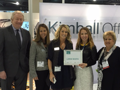 PHILADELPHIA PA The International Interior Design Association IIDA Is Pleased To Announce Winner Of 2015 Contract Magazine Large Booth