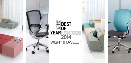 Wish And Dwell Received Honorable Mentions At The 9th Annual Interior Design Best Of Year BoY 2014 Awards Was A Finalist In Seating