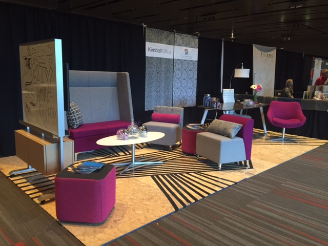 Kimball Office awarded Best Booth Design at IIDA Reveal