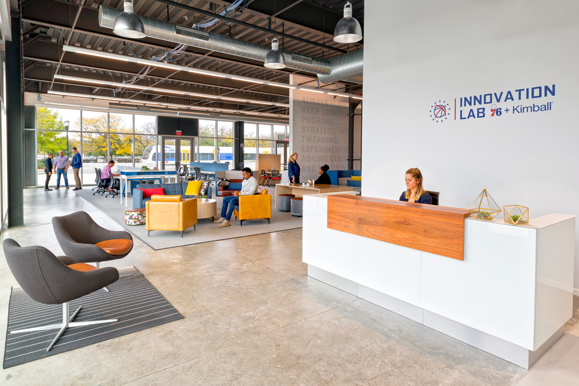 Sixers innovation lab kimball for Innovation lab