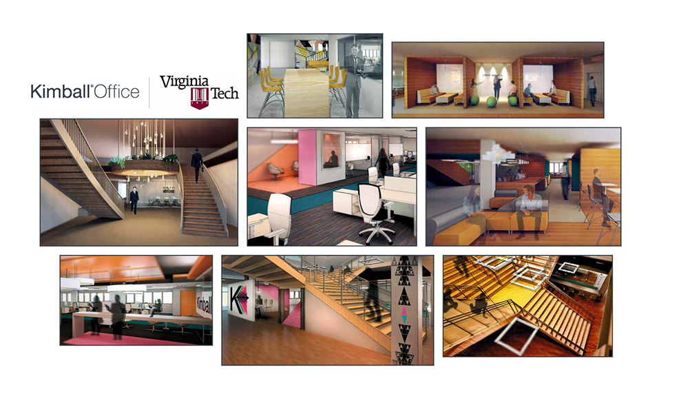 For The Past Five Years Kimball Office Has Been An Enthusiastic Supporter Of Virginia Tech Universitys Student Design Competition Awards Scholarship