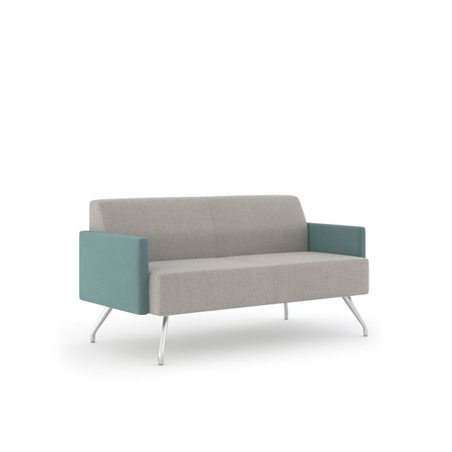 Two Seat Lounge With 2 Arm