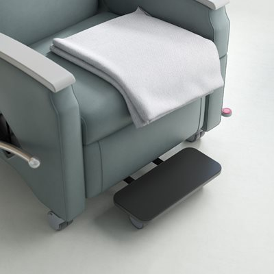 Plastic Cover For Recliner Footrest White Plastic Chair